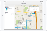 Capture d'écran pour AroFlo : Trace the team's every movement with the GPS job tracking system