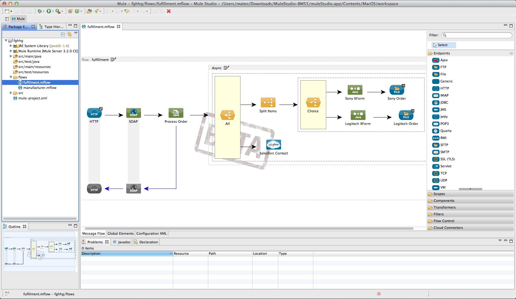 Mule ESB Software - Mulesoft ESB Studio