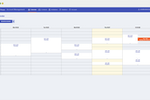 eatNgage screenshot: eatNgage calendar