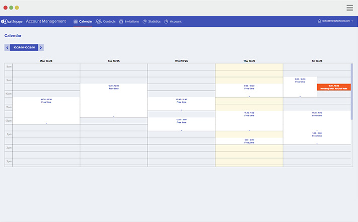 eatNgage calendar