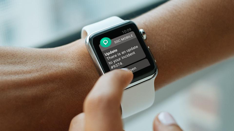 Tracker Software - Apple Watch Notifications