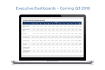 TouchPoint screenshot: Enable your leadership team to view year over year giving history and trends with dashboards.