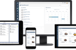 Aprio screenshot: Switch seamlessly between desktop, laptop, tablet or phone and see up-to-the-minute board documents