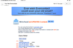 Evercontact screenshot: Evercontact notifies you about recently updated contacts
