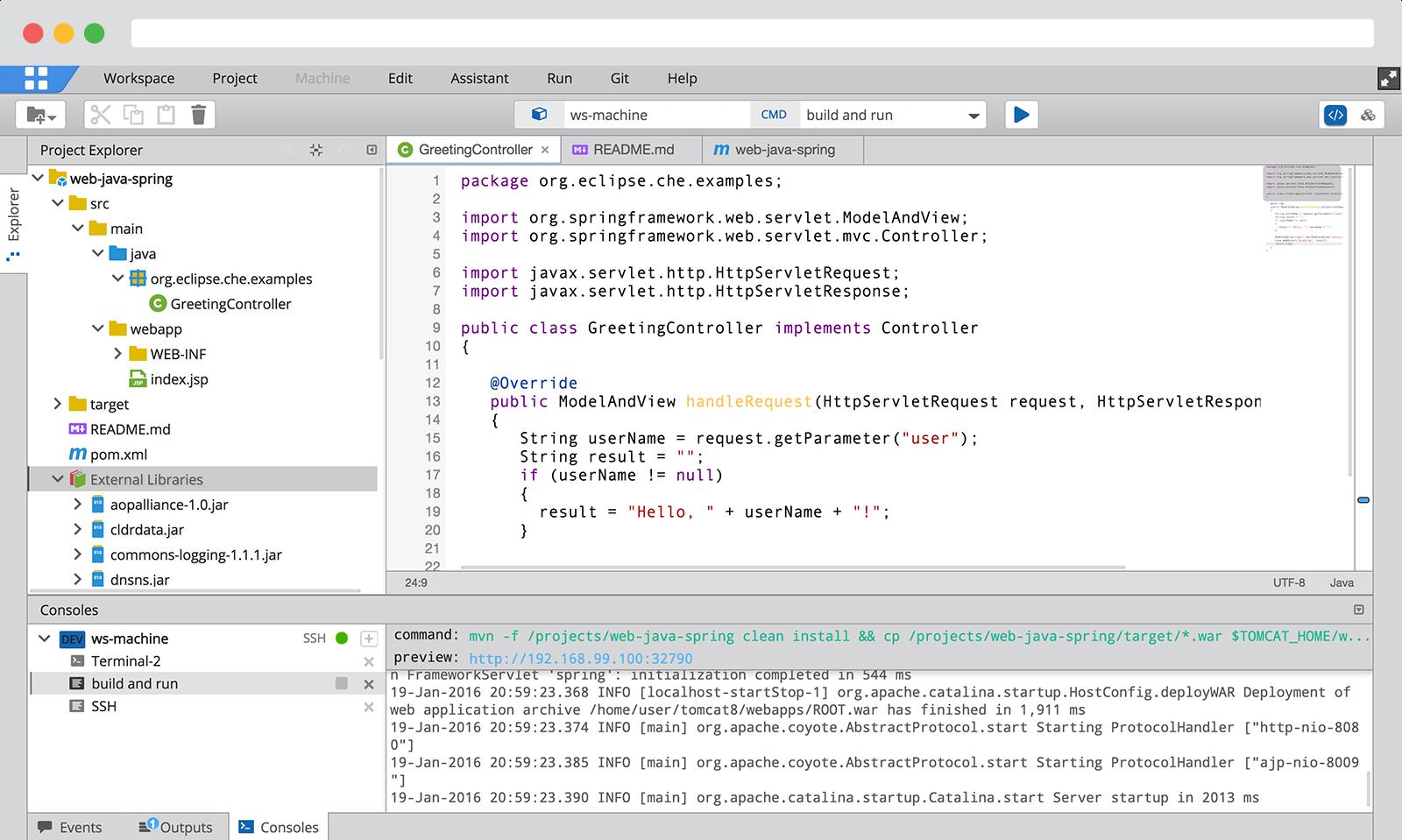 Codenvy Software - Work offline