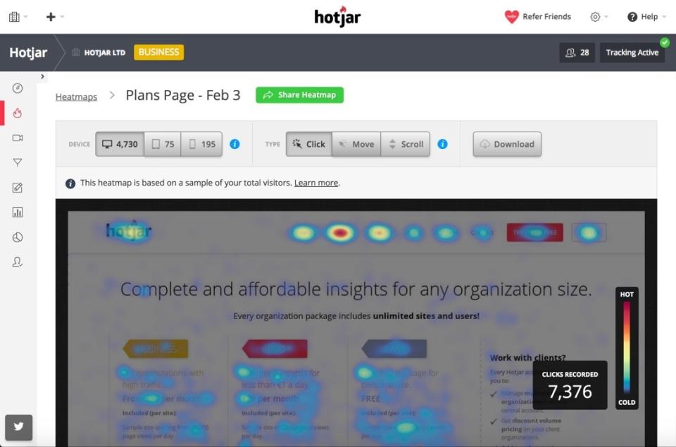 Hotjar Software - 2