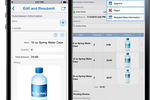 Flowfinity screenshot: Access and edit past records and critical information via mobile devices