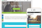 Knowledge Anywhere screenshot: Learners are able to launch and complete courses from any device