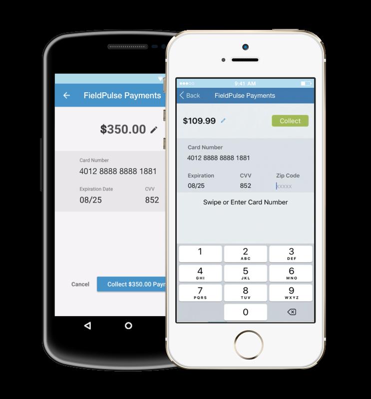FieldPulse online payments