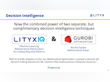 Lityx Software - Powered by Gurobi, LityxIQ delivers the unique combination of machine learning and true mathematical optimization in a no-coding required platform