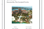 Captura de pantalla de OneCause: Showcase all of your auction items and allow your donors to easily bid either at an in person event or virtually.