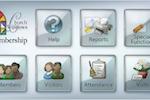 Church Windows screenshot: Church Windows Membership module allows to manage members and track visitation