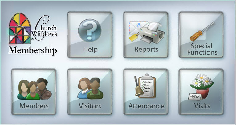 Church Windows Membership module allows to manage members and track visitation