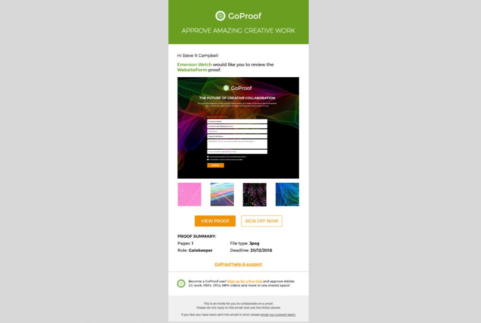 GoProof Software - 1