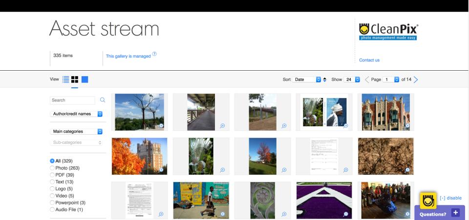 CleanPix Software - Managed Brand Portal