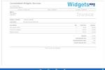 BlueCamroo Screenshot: Project Invoice