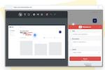 Captura de pantalla de Marker: Easy in-site annotations and ticket creation.