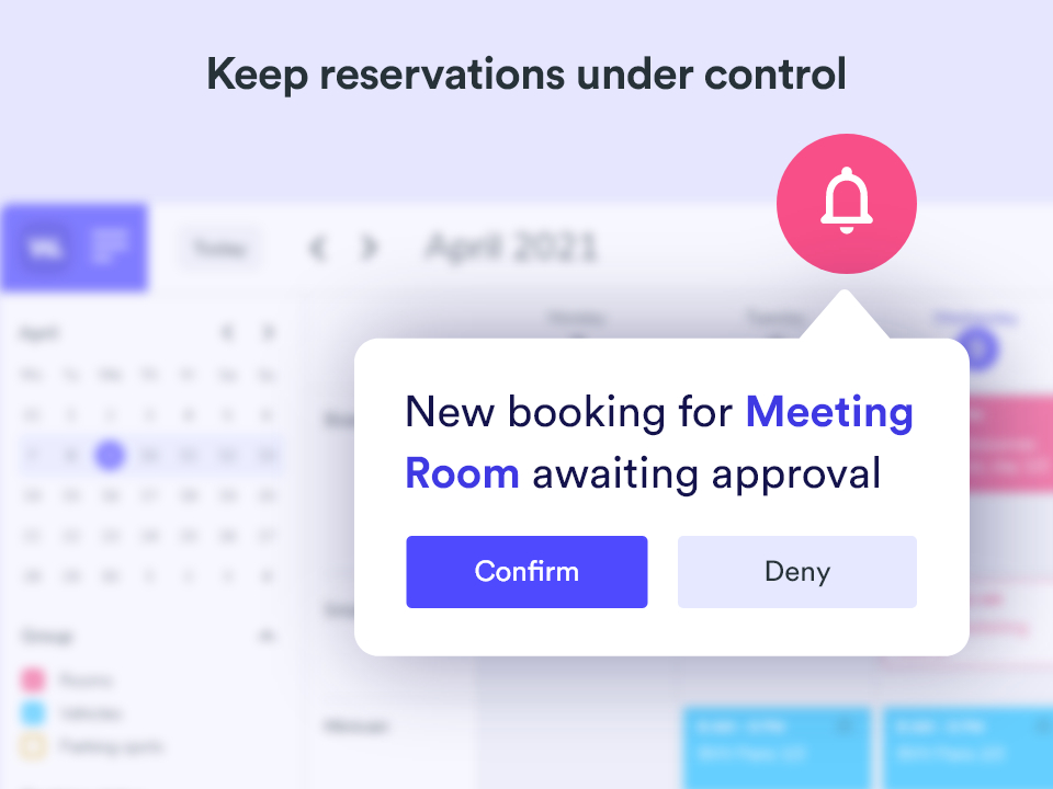 Whatspot booking approval