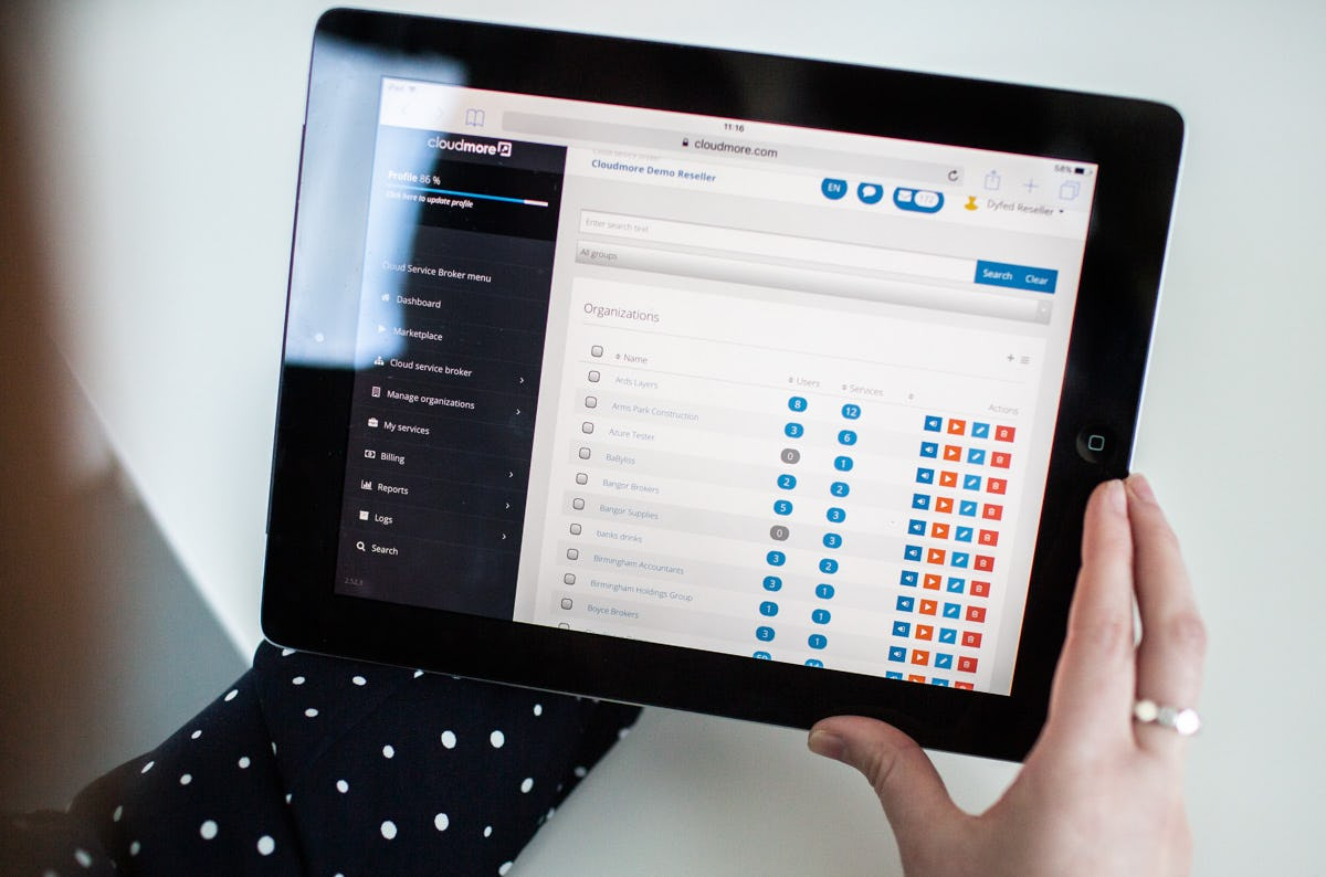 Cloudmore Software - Ipad