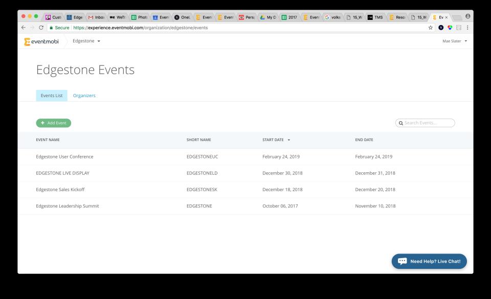 EventMobi Software - 5