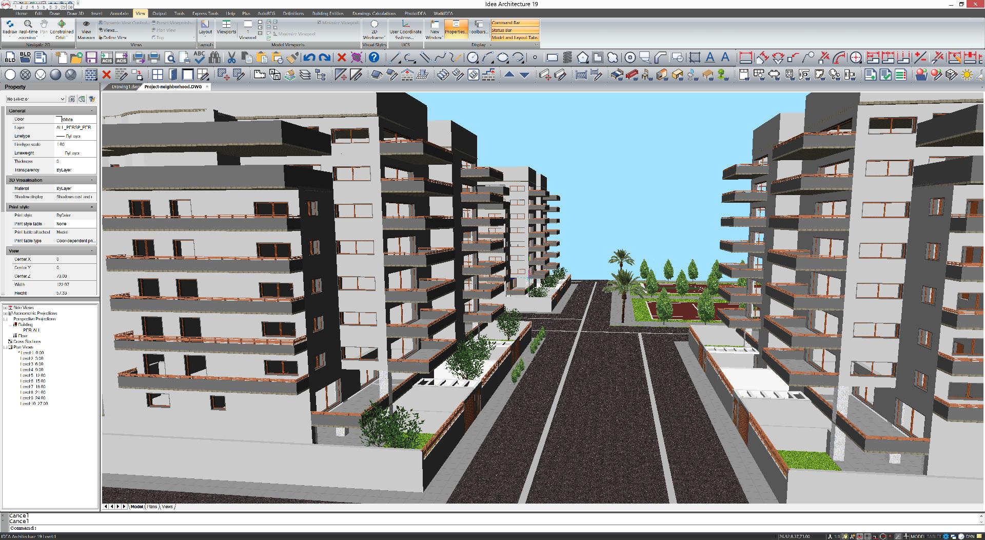 IDEA Architecture model view