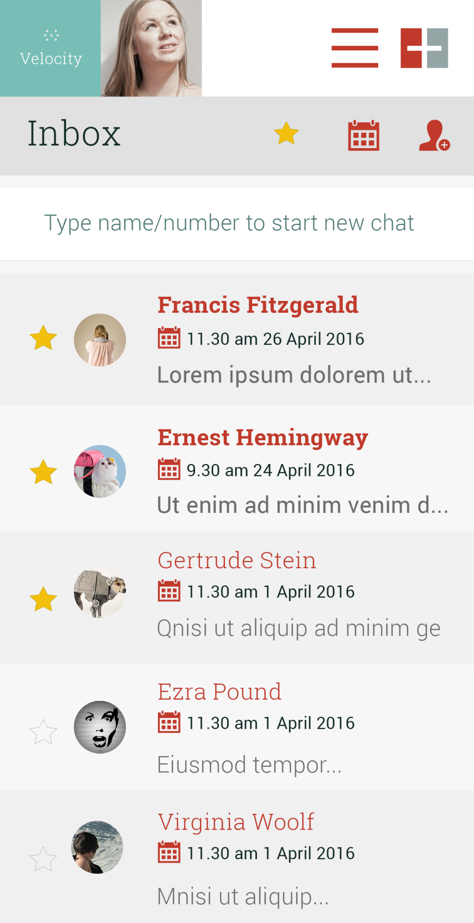 When subscribers reply back, users will receive the messages in their inbox