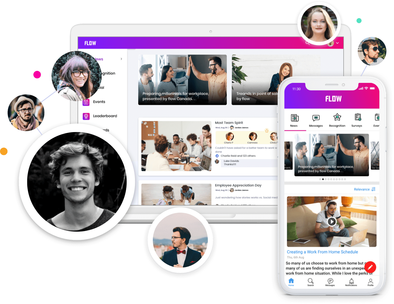 HubEngage Software - Your company Intranet never looked so good. Easily create a mobile and desktop web based experience that gets all your content across fast while creating engagement to different segments of employees. Push content in multiple languages easily.