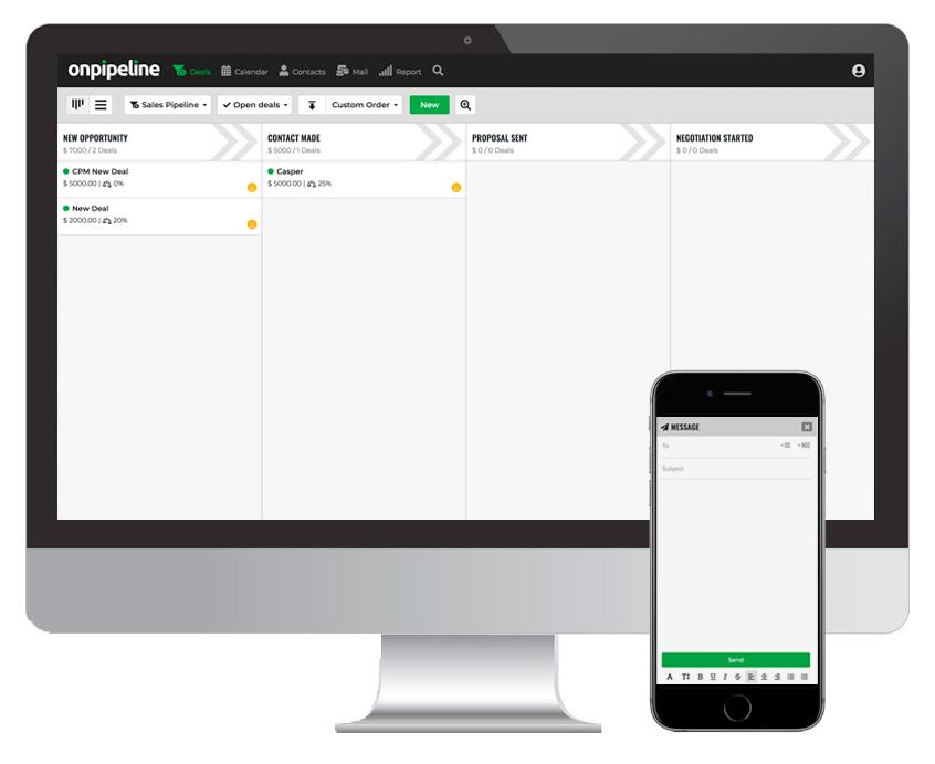 Onpipeline screenshot: Onpipeline visual pipeline management