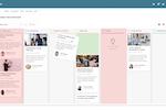 Qmarkets Idea Management screenshot: Qmarkets' Idea Kanban Board