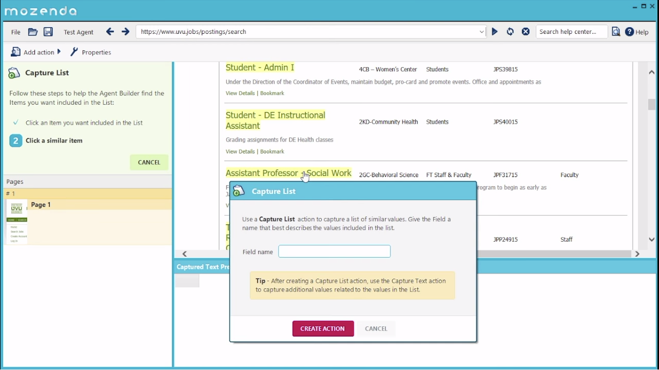 Collect limitless up-to-the-minute data from any webpage, document or file