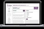 Connect TCM screenshot: Connect TCM showing associated questionnaires