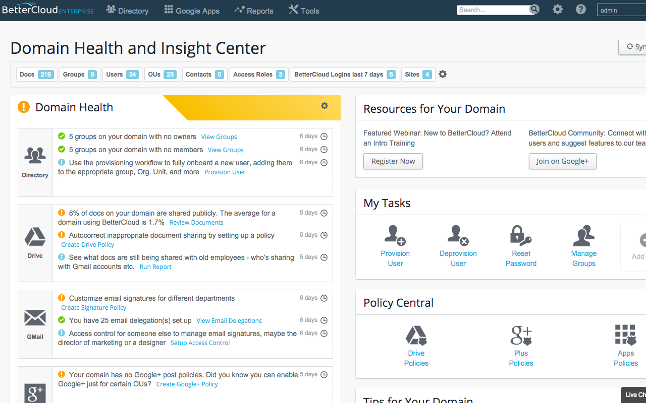 Domain Health and Insight Center