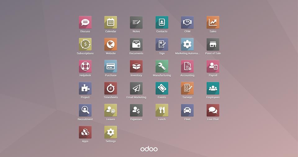 Odoo Software - 1