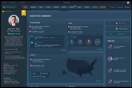 Clarity data dashboard