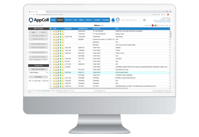 AppColl Prosecution Manager Software - 2