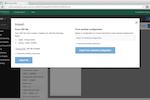 Semantria screenshot: Import CSV files to Semantria