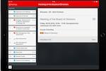 Capture d'écran pour Sherpany : Sherpany meeting agenda