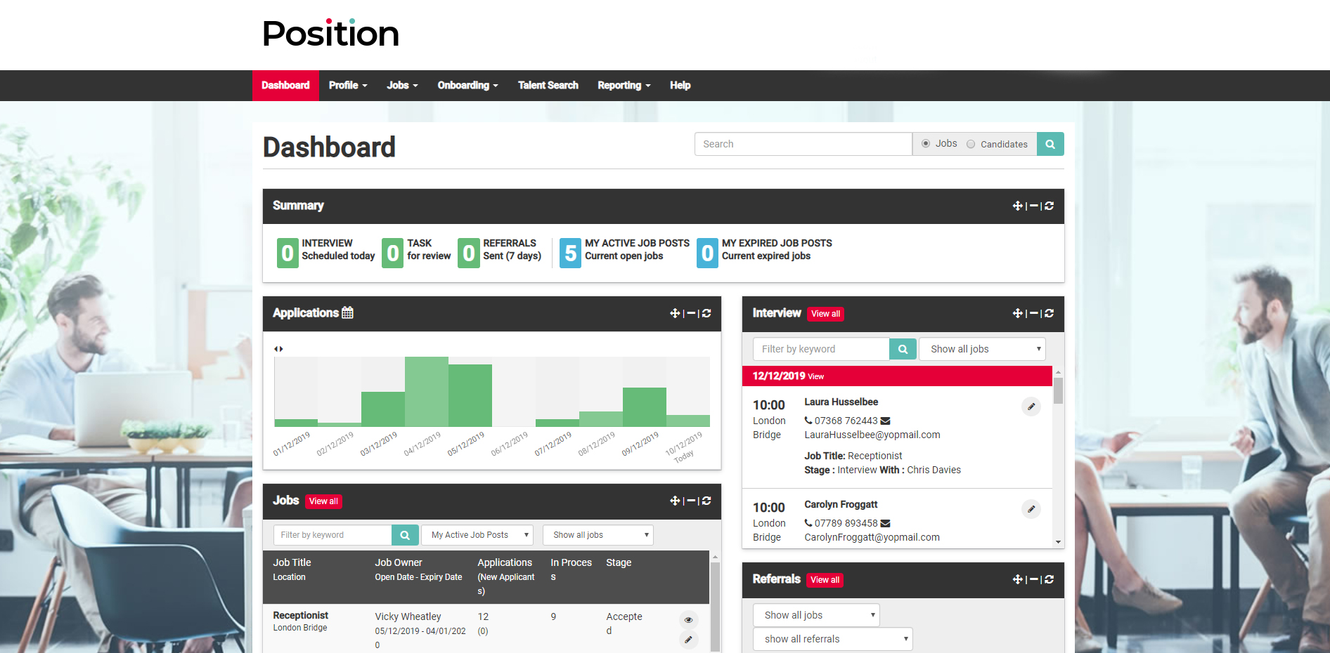 Tribepad Applicant Tracking