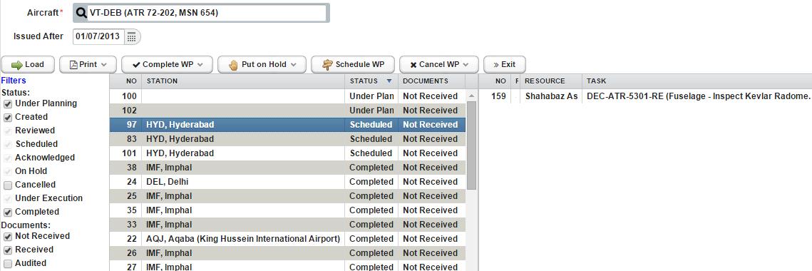 EMQIM Software - Work orders