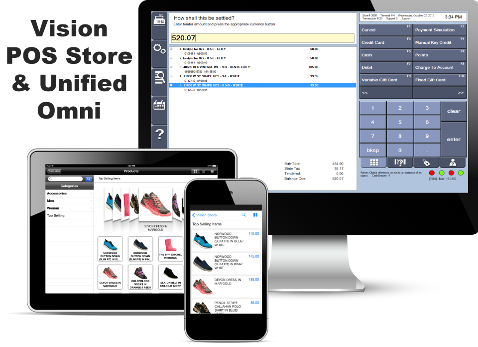 Vision POS & Unified Omni