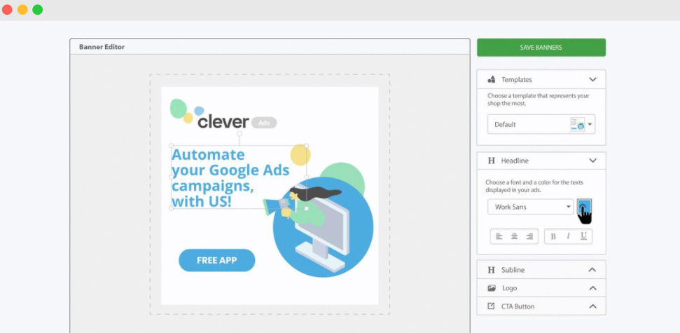 Clever Ads Banner Creator Software - 1