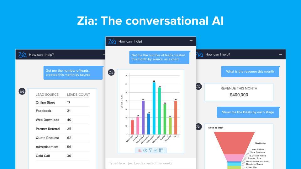 Zia- Conversational AI