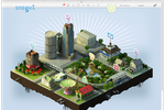 Picnic screenshot: Virtual worlds can be created to engage customers and enhance loyalty