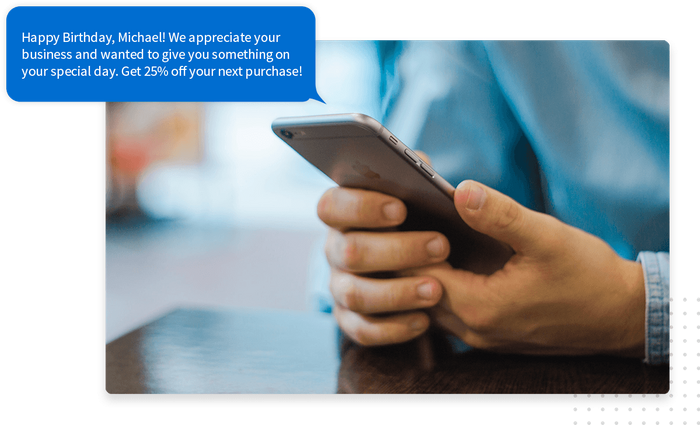 Text message marketing at your fingertips.