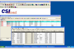 CSIRoad screenshot: CSIRoad showing Intermodal software on Windows platform