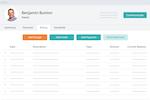 SchoolAdmin screenshot: SchoolAdmin tuition management