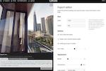 Kuula screenshot: Kuula export editor