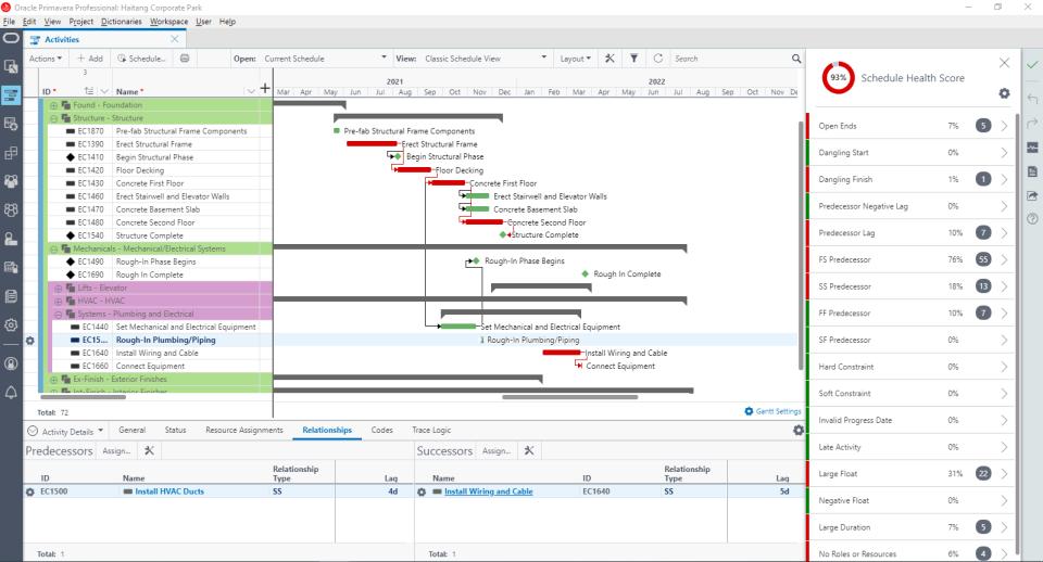 Oracle Primavera Cloud Logiciel - 3