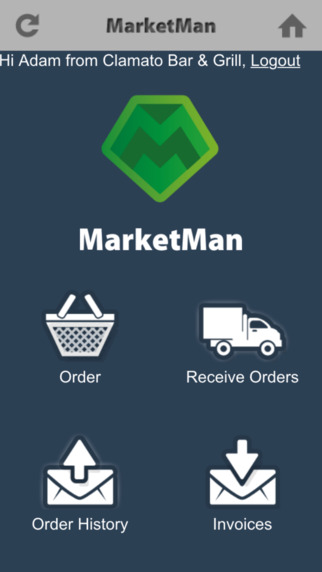MarketMan iOS and Android native apps are available for mobile devices
