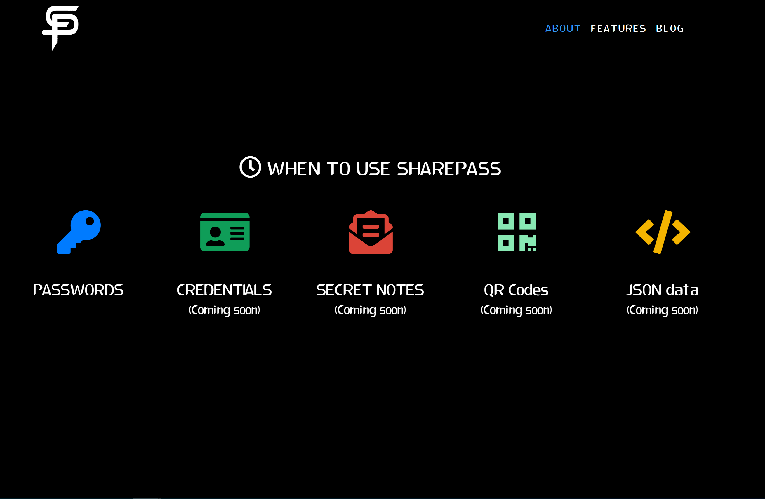 SharePass Software - When to use